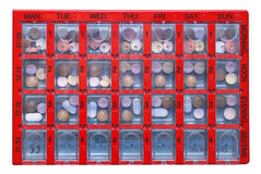 Pill box Royalty Free Stock Photo