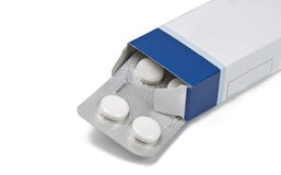 Pill box Royalty Free Stock Photos
