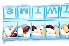 Free Pill Box Stock Image - 9090101