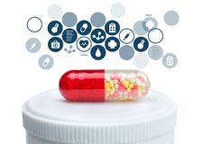 Pill Royalty Free Stock Images