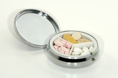 Pill Case Royalty Free Stock Images