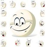 Pill character vector illustration