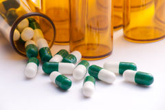 Pill Containers stock images