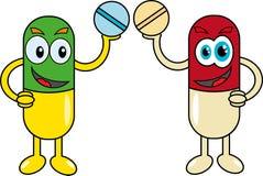 Pill. Royalty Free Stock Photos