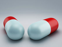 Pill 3d Royalty Free Stock Photography
