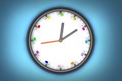 pill för klocka o Arkivbild