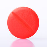 Pill isolated on background Royalty Free Stock Images