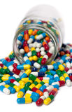 Pill Overload Royalty Free Stock Image