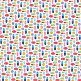 Pill pattern Stock Image