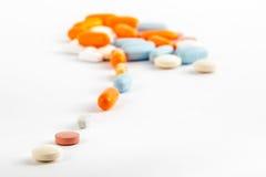 Pill's path Stock Photo