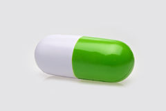 Pill shaped anti-stress toy Stock Image