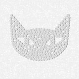 Pill, tablet, cat Royalty Free Stock Image