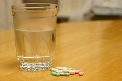 Pill Taking Stock Image