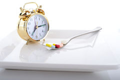 Pill time Royalty Free Stock Photo