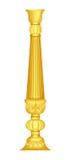 Pillar. A beautiful gold pillar generated by illustration Stock Photos