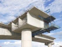 Pillar of bridge Royalty Free Stock Images