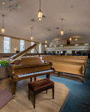 Pillar Church Piano Royalty Free Stock Images