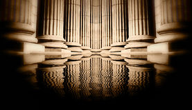 Pillar close-up Royalty Free Stock Image