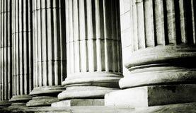 Pillar close-up Stock Images