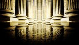 Pillar close-up Royalty Free Stock Photos