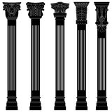 Pillar column antique ancient old roman greek arch Royalty Free Stock Photo