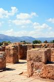 Pillar Crypt building, Malia. Stock Image
