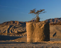 Pillar of desert Stock Images