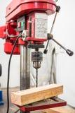 Pillar drilling machine Royalty Free Stock Images