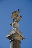 Pillar of the eagle Royalty Free Stock Image