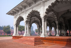 Pillar Gallery in Agra, Uttar Pradesh, India Royalty Free Stock Photo