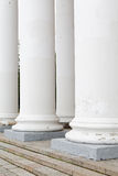 Pillar old classical style summer Royalty Free Stock Images