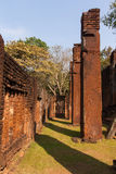 Pillar. Old stone pillars , Kamphaeng Phet Stock Photography