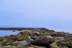 Pillar Point Harbor California Royalty Free Stock Image