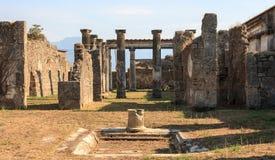 Pillar Pompeii Royalty Free Stock Images
