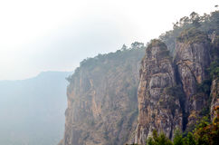 Pillar rocks at Kodaikanal Royalty Free Stock Images