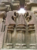 Pillar sculpture. Its photo of ancient pillar sculpture. Place- aishwareshwar temple, India stock photography
