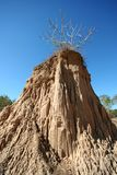 The pillar of the soil Royalty Free Stock Photography
