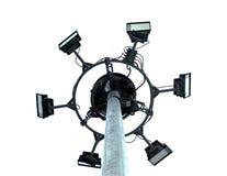 Pillar spotlights Stock Photos