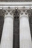 Pillar of St Pauls Cathedral, London Stock Photos