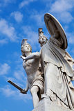 Pillar Statue in Schlossbrücke Bridge in Berlin Stock Photos