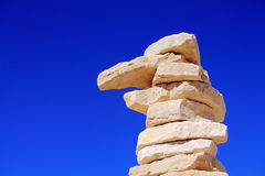 Pillar of stone Royalty Free Stock Photography