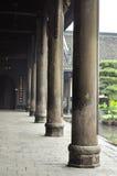Pillar stone chinese column Stock Photo