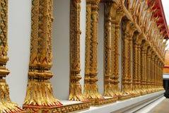 Pillar of temple. Royalty Free Stock Photo