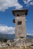 Pillar tomb Royalty Free Stock Photo