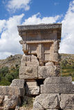 Pillar tomb of the ancient city Stock Images