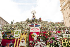Pillar Virgin Saragossa Royalty Free Stock Photography