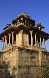84-Pillared cenotafio, Bundi, Rajasthán Foto de archivo libre de regalías