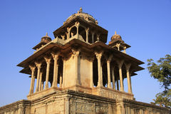 84-Pillared cenotafium, Bundi, Rajasthan Royaltyfri Foto