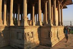 84-Pillared cenotafium, Bundi, Rajasthan Royaltyfria Bilder