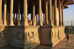 84-Pillared Cenotaph, Bundi, Rajasthan Obrazy Royalty Free